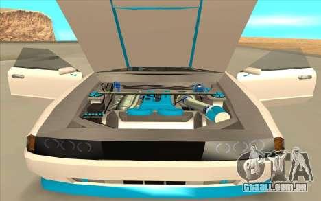 Elegy DRIFT KING GT-1 [2.0] (New wheels) para GTA San Andreas vista traseira