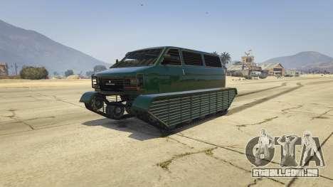 Police Transporter Tracked para GTA 5