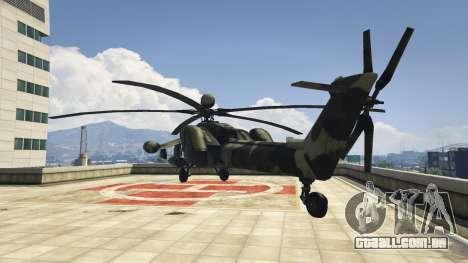 GTA 5 Mi-28 caçador de Noite terceiro screenshot