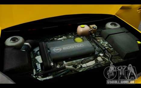 Opel Vectra Special para GTA San Andreas vista superior