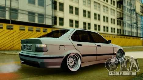 BMW 320 E36 para GTA San Andreas esquerda vista