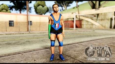 WWE Santino para GTA San Andreas segunda tela