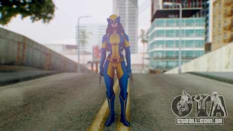 Marvel Heroes X-23 (All new Wolverine) v1 para GTA San Andreas segunda tela