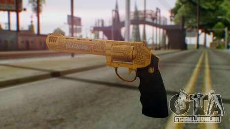 GTA 5 VIP Revolver para GTA San Andreas segunda tela