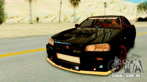 Nissan Skyline GT-R Nismo Tuned para GTA San Andreas