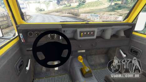 Land Rover Defender 90 1990 v1.1 para GTA 5