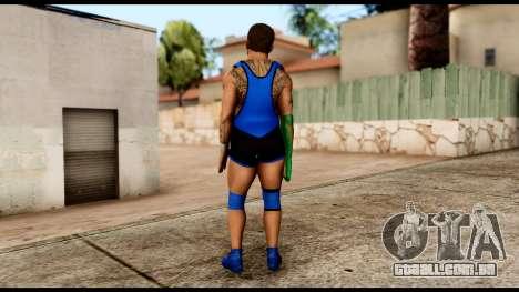 WWE Santino para GTA San Andreas terceira tela
