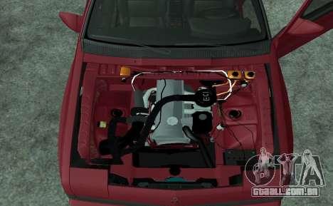 Mitsubishi Starion ECI-R para GTA San Andreas vista direita
