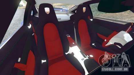 GTA 5 Porsche 997 GT2 RS vista lateral direita