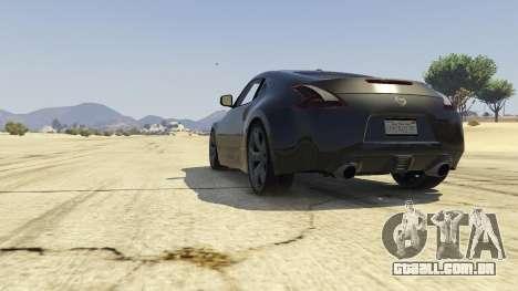 GTA 5 Nissan 370z v2.0 voltar vista