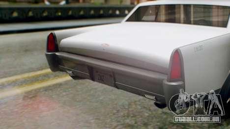 GTA 5 Vapid Chino Tunable IVF PJ para GTA San Andreas vista interior
