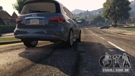 GTA 5 Infiniti QX56 voltar vista