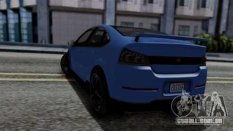 GTA 5 Cheval Surge para GTA San Andreas esquerda vista