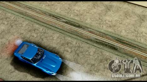 New HD Roads para GTA San Andreas quinto tela