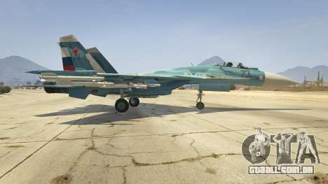 GTA 5 Su-33 segundo screenshot