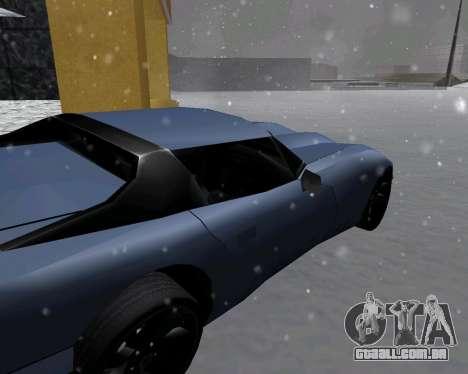 Novo Banshee com telhado para GTA San Andreas traseira esquerda vista