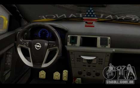 Opel Vectra Special para GTA San Andreas vista direita