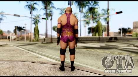 WWE Ryback para GTA San Andreas terceira tela