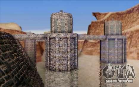 Nova barragem para GTA San Andreas segunda tela