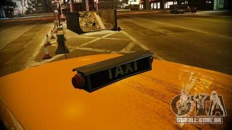 Ford Crown Victoria L.C.C Taxi para GTA 4 vista direita