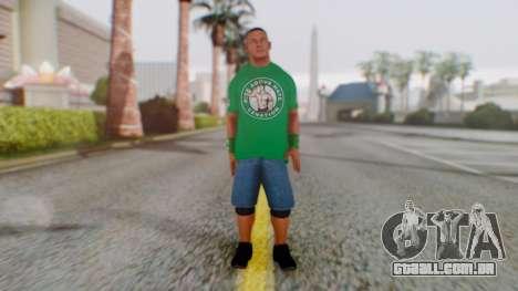 John Cena para GTA San Andreas segunda tela
