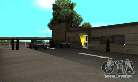 Renovação de escolas de condução em San Fierro para GTA San Andreas terceira tela