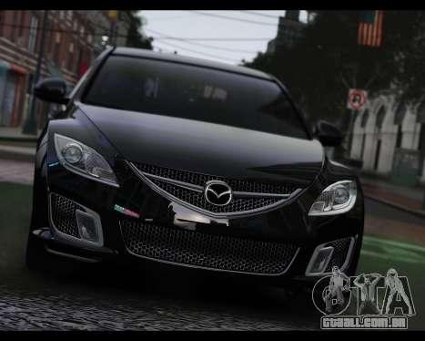 Mazda 6 Sport para GTA 4 traseira esquerda vista