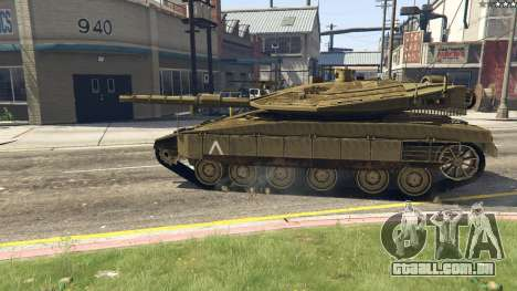 GTA 5 Merkava IV voltar vista