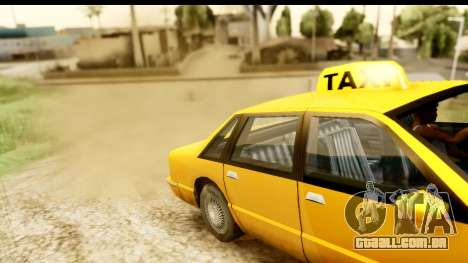 New Effects (IMFX, Shaders) para GTA San Andreas sétima tela