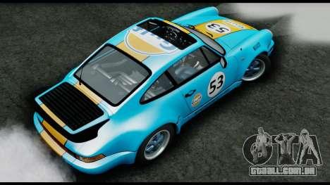 Porsche 911 Turbo 3.2 Coupe (930) 1985 para GTA San Andreas vista traseira
