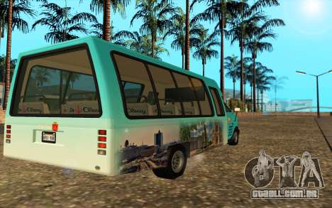 Iveco Custom Odessa para GTA San Andreas esquerda vista
