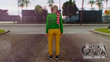 GTA Online Festive Surprise Skin 1 para GTA San Andreas terceira tela
