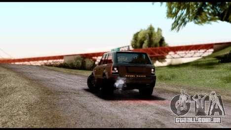 New HD Roads para GTA San Andreas segunda tela