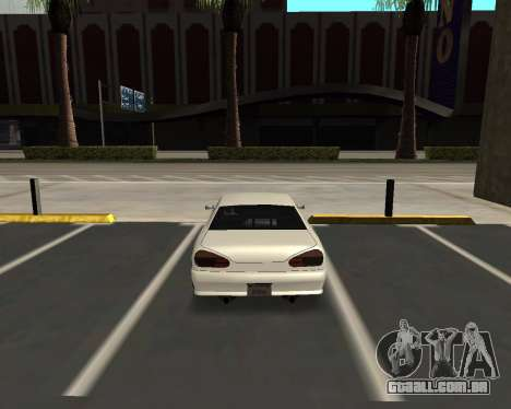 Elegy C35 para GTA San Andreas traseira esquerda vista