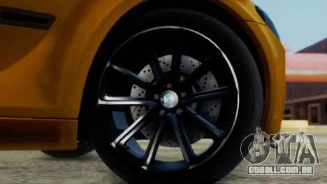 BMW 750Li M Sport para GTA San Andreas traseira esquerda vista