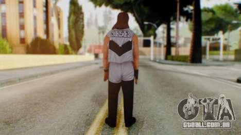 WWE Diesel 1 para GTA San Andreas terceira tela