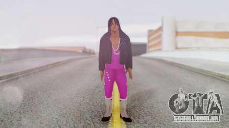 Bret Hart 2 para GTA San Andreas segunda tela