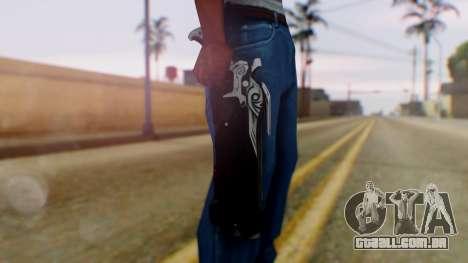 Reaper Weapon - Overwatch para GTA San Andreas terceira tela
