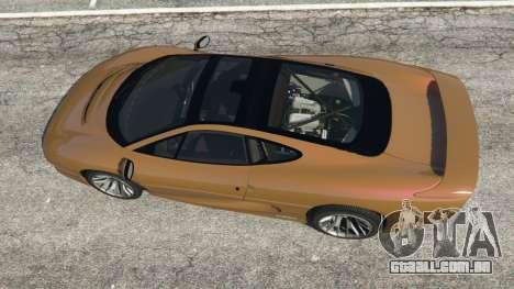Jaguar XJ220 v1.2.5 para GTA 5