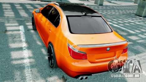 BMW M5 E60 para GTA 4 interior
