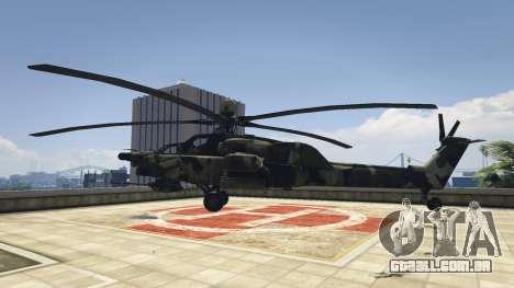 GTA 5 Mi-28 caçador de Noite segundo screenshot