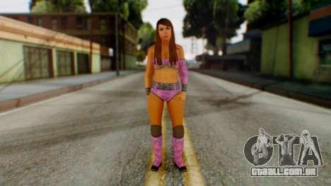 Layla WWE para GTA San Andreas segunda tela