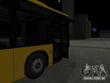 Mercedes-Benz O530 Citaro para GTA San Andreas vista inferior