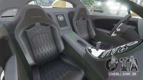 Bugatti Veyron Grand Sport Vitesse para GTA 5