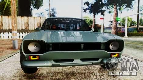Ford Escort Mk1 para GTA San Andreas vista direita