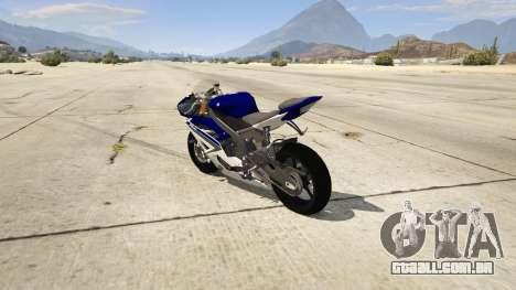 Yamaha YZF-R6 2014 para GTA 5