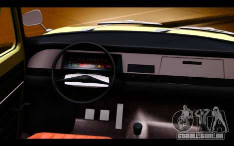 Skoda 100 para GTA San Andreas vista direita