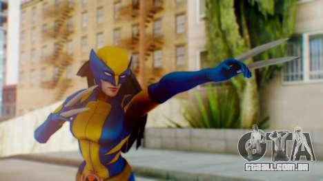 Marvel Heroes X-23 (All new Wolverine) v1 para GTA San Andreas