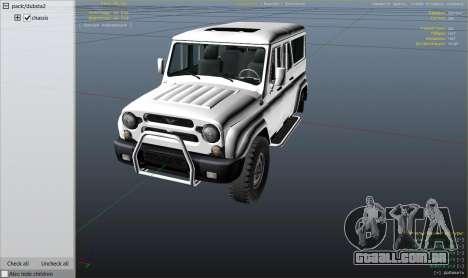 Roda GTA 5 УАЗ 3159 Porpoising