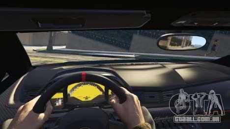 GTA 5 2013 Lamborghini Veneno HQ EDITION traseira direita vista lateral